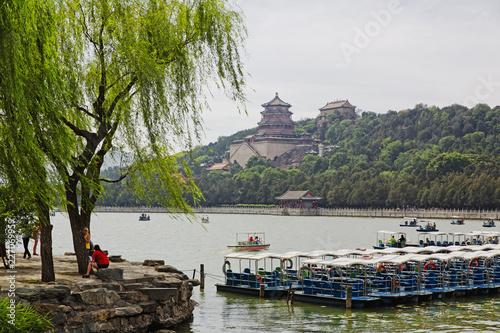 Keuken foto achterwand Aziatische Plekken The famous Summer Imperial Palace in Beijing, China
