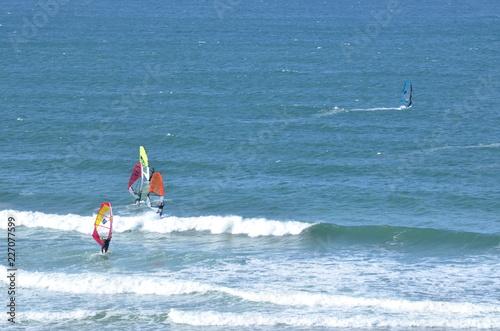 Windsurf in Bretagne, France