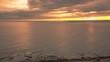 Drone video of the sun setting on the Newport, Rhode Island coastline.