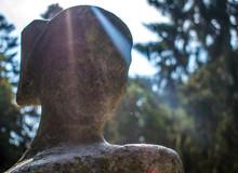 Girl Statue Portrait