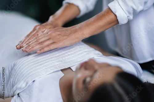 Reiki Healing Treatment Canvas Print