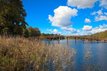 Most Na Jeziorze Wydmińskim