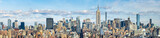 Fototapeta Nowy Jork - New York Skyline Panorama mit Empire State Building, USA