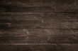 Old dark wooden background, texture with copy space