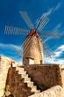 Leinwandbild Motiv Old Grain Mill  |  Mallorca  |  9362