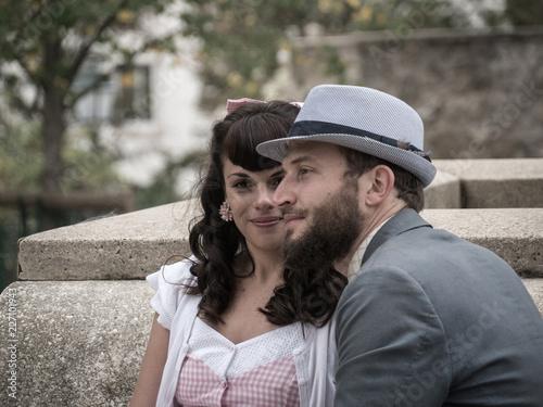 Photo Jeune couple amoureux