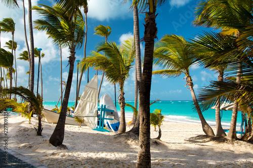 Fotografia  Dominican Republic, Punta cana, Saona Island - Mano Juan Beach