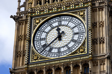 Low Angle View Of Big Ben In C...