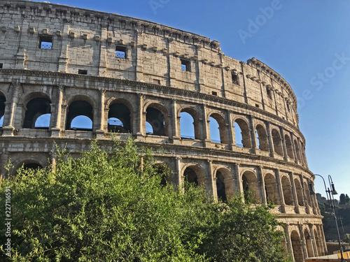 Foto op Aluminium Rome Roma, il Colosseo