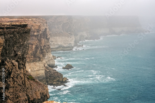 Foto op Aluminium Oceanië Western Australia – Great Australian Bright with rocky coastline, strong surge and high cliffs