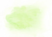 Light Green Watercolor Gradien...