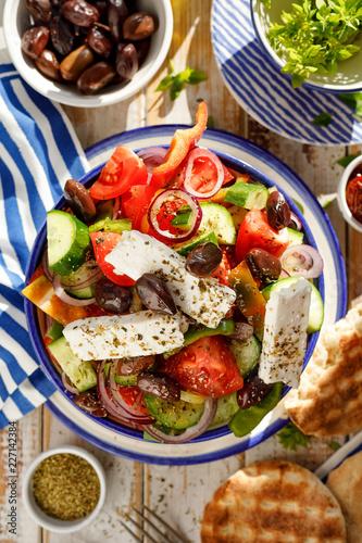 Fotografie, Obraz  Greek salad
