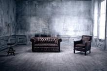 Ominous Looking Living Room