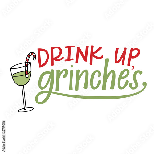 Stampa su Tela  Drink up, grinches