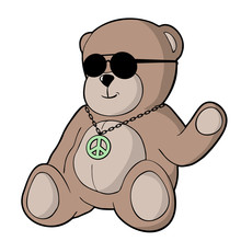 Bear With Sunglasses