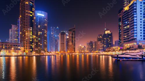 Photo  Beautiful view to Dubai Marina, UAE