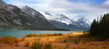 Panoramic View Of Spray Lakes ...