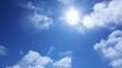 Timelapse Heavenly Sky Clouds 64 Loop