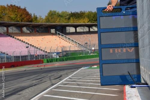 Foto op Plexiglas Motorsport Auf der Rennstrecke