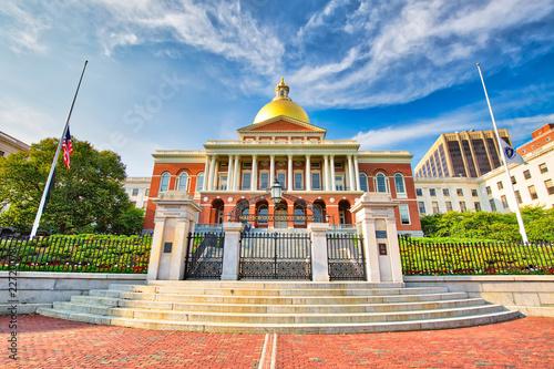 Fotografía  Massachusetts State House in Boston