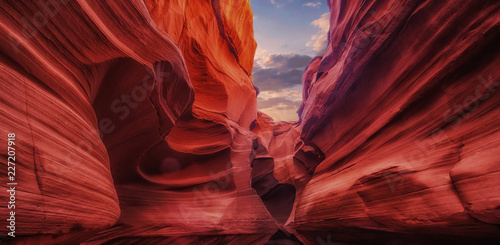 The Antelope Canyon, near Page, Arizona, USA Fototapete