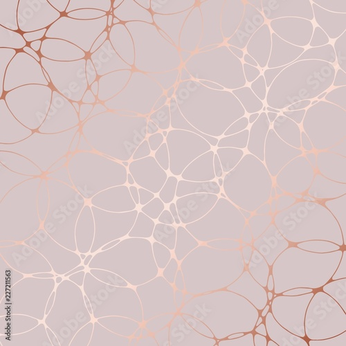 Rose gold. Abstract decorative background for design Wall mural