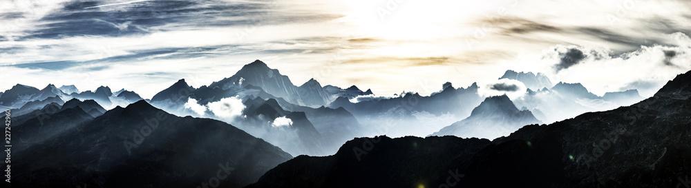 Fototapety, obrazy: Schweizer Berge
