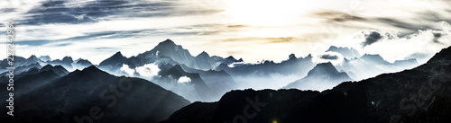 Canvas Prints Alps Schweizer Berge