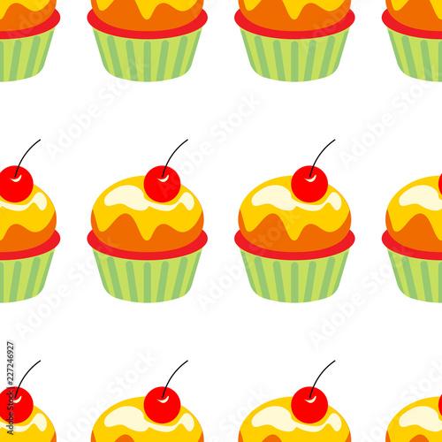 elementy-urodzinowe-zestaw-ilustracji-wektorowych-zestaw-babeczek-dekoracje-bezszwowy-wzor-z-babeczkami-do-kuchni-serwetek-kart-obrusow-opakowan-papieru-do-pakowania-prezentu