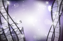 Abstract Shiny Background With...