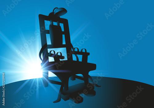 Fotografía  Une chaise électrique pour l'application de la peine de mort encore en vigueur a