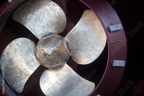 Fotografiet ship propeller