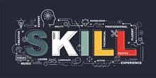 Design Concept Of Word SKILL W...