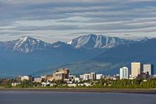 Mountains At Anchorage, Alaska