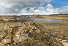 View Ove Rocks, Siblyback Reservoir, Cornwall