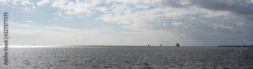 Spoed Foto op Canvas Noordzee Panorama Dagebüll