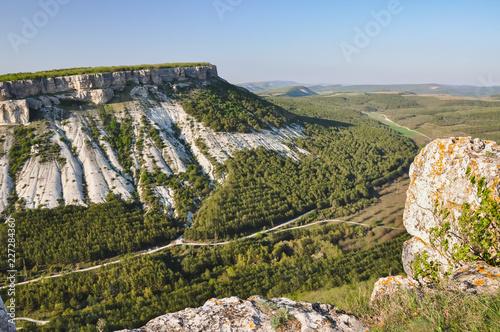 Spoed Foto op Canvas Natuur Mountain landscape
