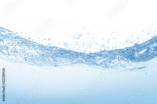Fototapety, obrazy: Water splash,water splash isolated on white background,water