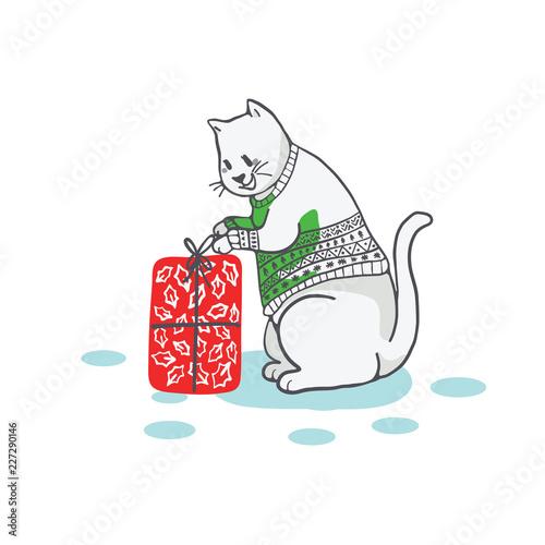 A cat on summer holiday - Download Free Vectors, Clipart Graphics & Vector  Art