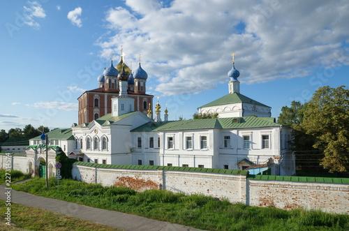 Ryazan Kremlin and Spaso-Preobrazhensky monastery in Ryazan city, Russia