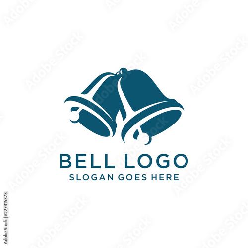 Fototapeta Bell logo template