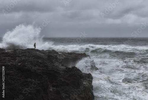Fotografie, Obraz  Taking chances on the Oregon Coast