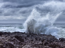 Stormy Surf At Cape Perpetua O...