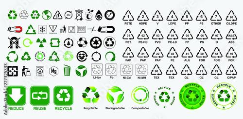 Fotografie, Obraz  reduce reuse recycle concept. easy to modify