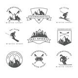mountain logotypes