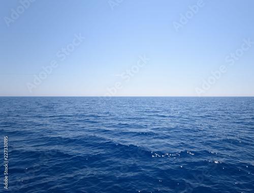 Foto op Aluminium Zee / Oceaan sea and blue sky