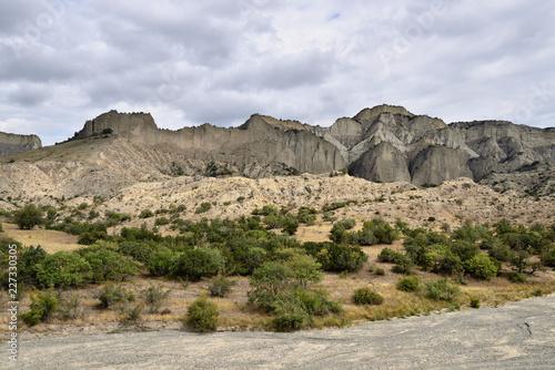 Fotografia  Georgia, Vashlovani National Park the driest deserts