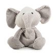 canvas print picture - Grey toy elephant