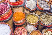 Spice Souk At World Trade Center Mall, Emirate Of Abu Dhabi, United Arab Emirates, UAE