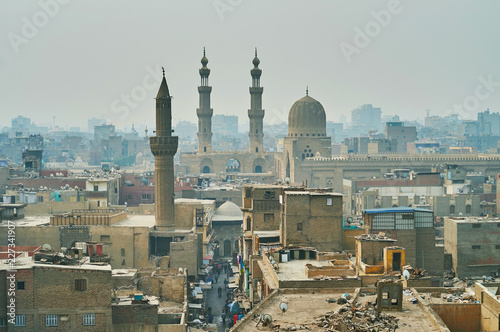 Deurstickers Afrika Bab Zuwayla Gate from the top, Cairo, Egypt